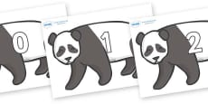 Numbers 0-50 on Pandas