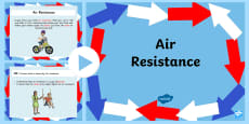 Air Resistance Lesson Teaching PowerPoint