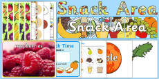 Snack Time Ready Made Display Pack
