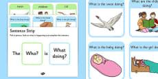 What Picture Description Cards