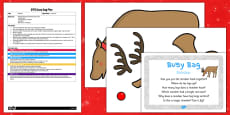 Reindeer EYFS Busy Bag Plan and Resource Pack
