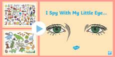 I Spy With My Little Eye PowerPoint