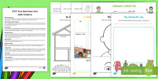 * NEW * EYFS First Week Back Activity Pack with Adult Guidance