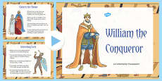 William the Conqueror Facts PowerPoint