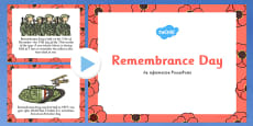 Remembrance Day Information PowerPoint - Australia