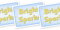 Group Signs (Bright Sparks)