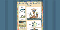 Ancient Egyptian Creation Story Vocabulary Mat