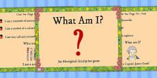 Australia - Aboriginal and Torres Strait Islander People What Am I? PowerPoint