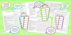 2014 Curriculum LKS2 Years 3 and 4 English Assessment Resource Pack