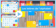 French Alphabet Presentation