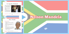 Nelson Mandela Informative PowerPoint