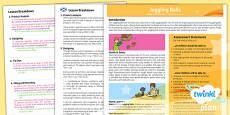 PlanIt - D&T LKS2 - Juggling Balls Planning Overview CfE
