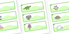 Yew Tree Themed Editable Drawer-Peg-Name Labels