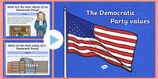 Democratic Party Values  PowerPoint