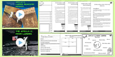 Apollo 11 Moon Landing Report Teaching Pack