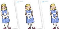 A-Z Alphabet on Goldilocks