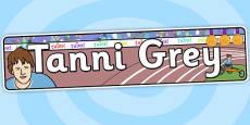 Tanni Grey Thompson Display Banner