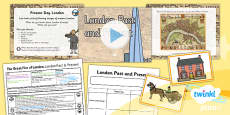 PlanIt - History KS1 - The Great Fire of London Lesson 1: London Past and Present Lesson Pack
