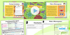 PlanIt - Science Year 6 - Living Things and Their Habitats Lesson 5: More About Microorganisms Lesson Pack