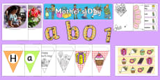 KS1 Mother's Day Discover and Learn Display Pack