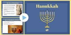 EYFS Hanukkah Information PowerPoint