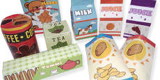 Roleplay Supermarket Product Boxes Pack