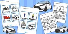 Mechanics/Garage Role Play Badges
