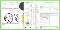 Year 1 First Week Back Activity Pack