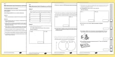 Year 6 Maths Assessment: Multiplication and Division Term 1
