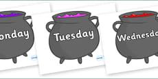 Days of the Week on Cauldron