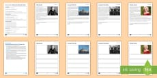 Blood Brothers: Social and Historical Context Activity Pack