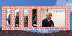 Remembrance Day Display Photos