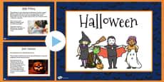 Halloween Informative PowerPoint