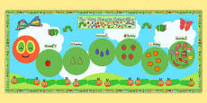 Ready Made Display Pack Version 2 to Support Teaching on The Very Hungry Caterpillar