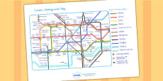 Australia - London Underground Map