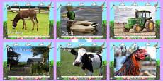 Farm Display Photo PowerPoint