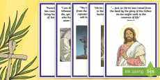 Easter Bible Verses Display Posters