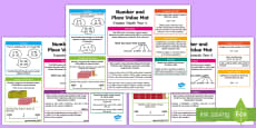 Year 4 Number and Place Value Differentiated Maths Mat