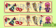 Pancarta: Carnaval