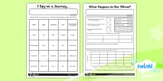 PlanIt - Geography Year 3 - Land Use Unit Home Learning Tasks