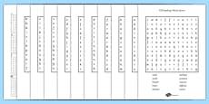Year 3-4 Statutory Spelling List Wordsearch Pack