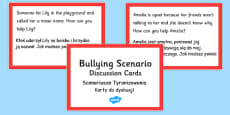 How Can You Help? Discussion Cards Polish Translation