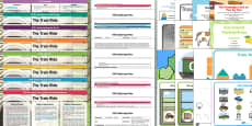 Lesson Plan Enhancement Ideas and Resources Pack to Support Teaching on The Train Ride