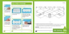 KS2 Fruit Flextangle Paper Craft