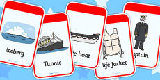 The Titanic Flashcards