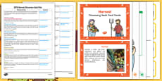 EYFS Harvest Discovery Sack Plan and Resource Pack