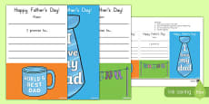 Australia Father's Day Bookmarks