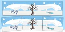 Small World Background (Winter)