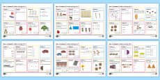 Year 1 Autumn 2 Maths Activity Mats
