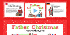 Father Christmas Around the World PowerPoint Teaching Pack